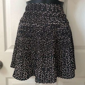 H&M Star Print Skirt